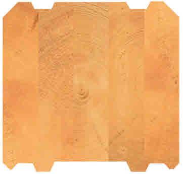 Lamellenbalken 275x220 mm - Massivholz Bausatz - Blockhaus bauen und planen - Holzbausatz
