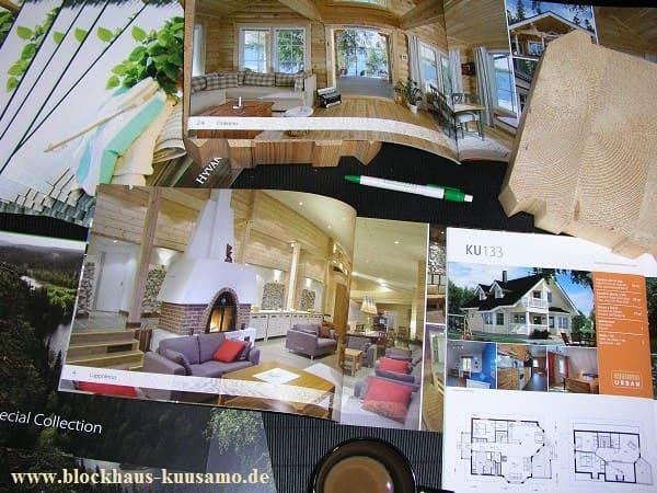Wohnblockhaus oder Gewerbeobjekt - Eine gute Planung ist immer die halbe Miete - © Blockhaus Kuusamo