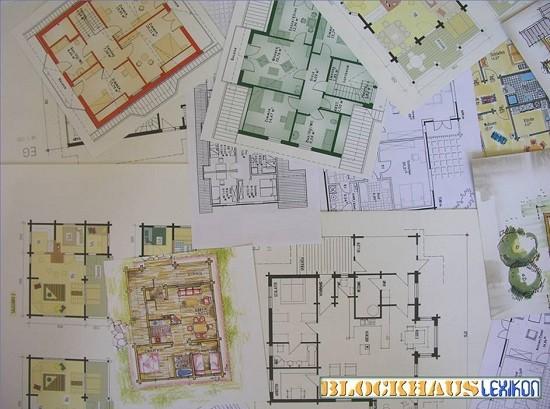 Holzhaus Grundrisse - Blockhausbau mit Planung - Hausbau