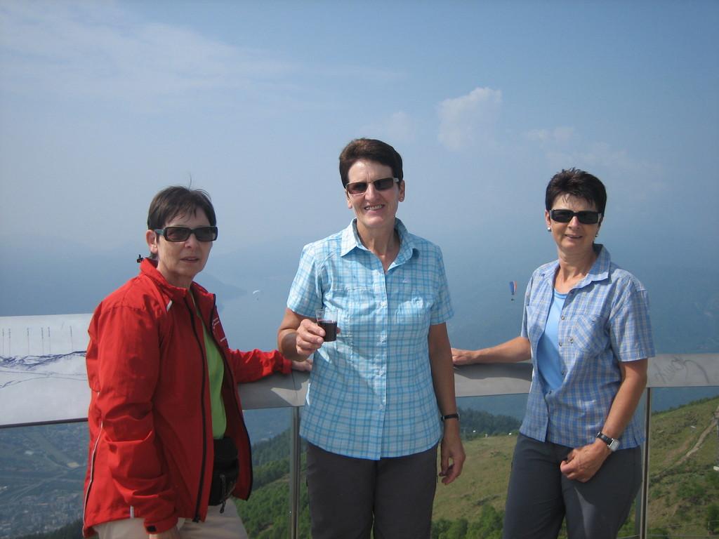 Auf der Cimetta Aussichtsterrasse