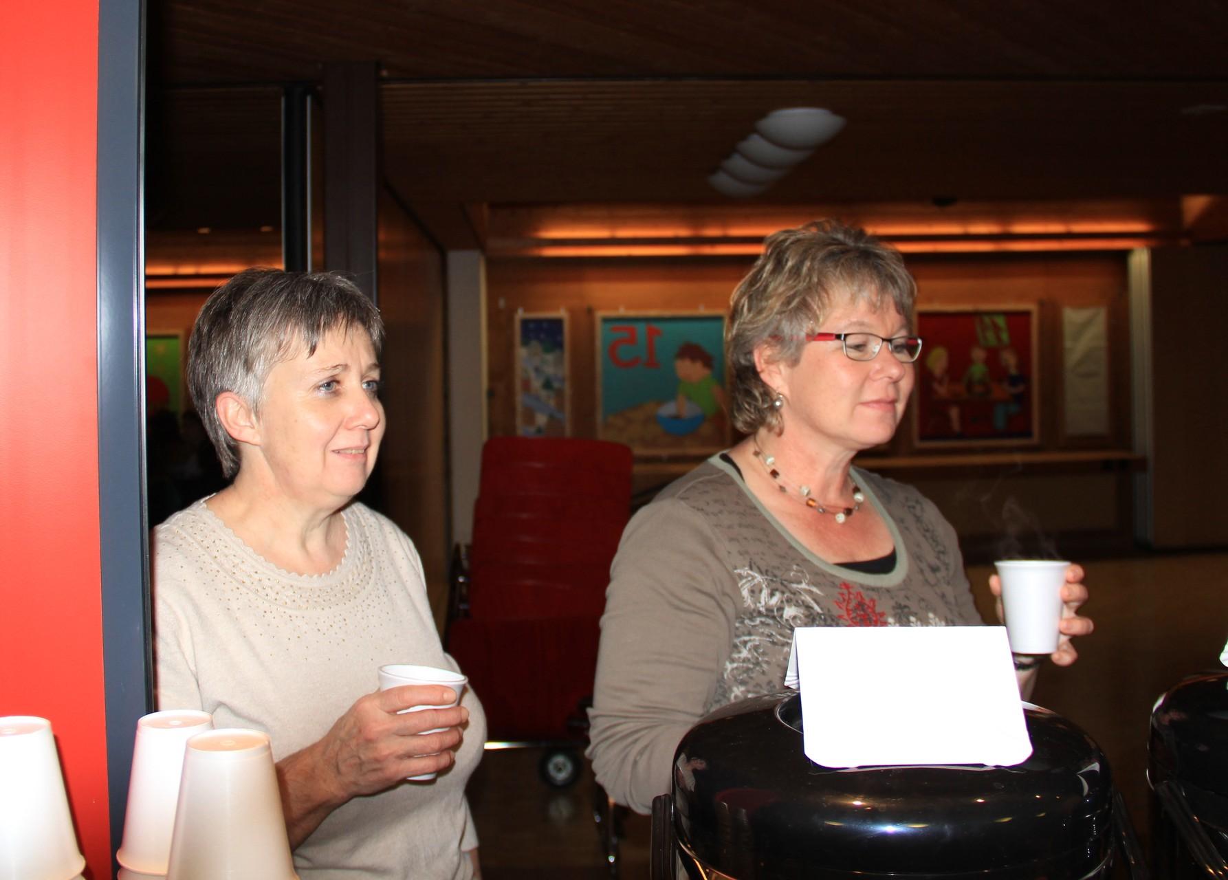 Agnes und Claudia