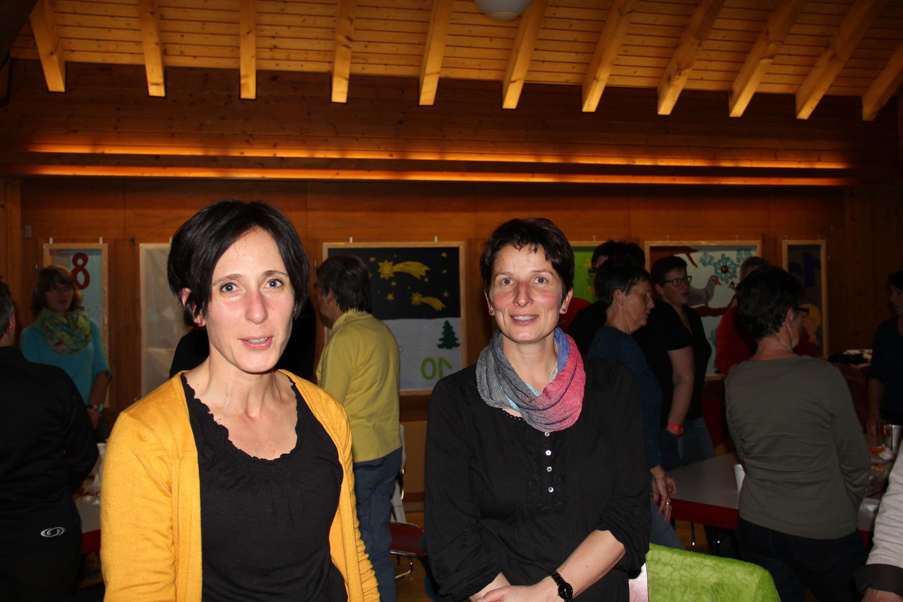 Nicole und Claudia