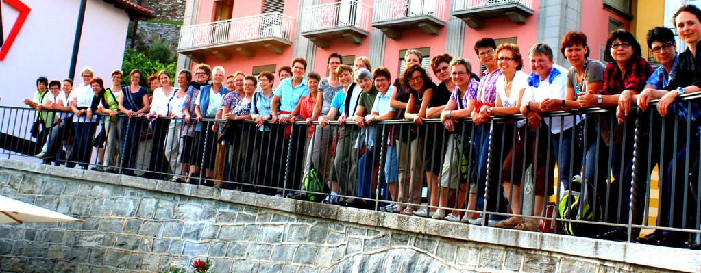 Das erste Gruppenbild, in Ascona
