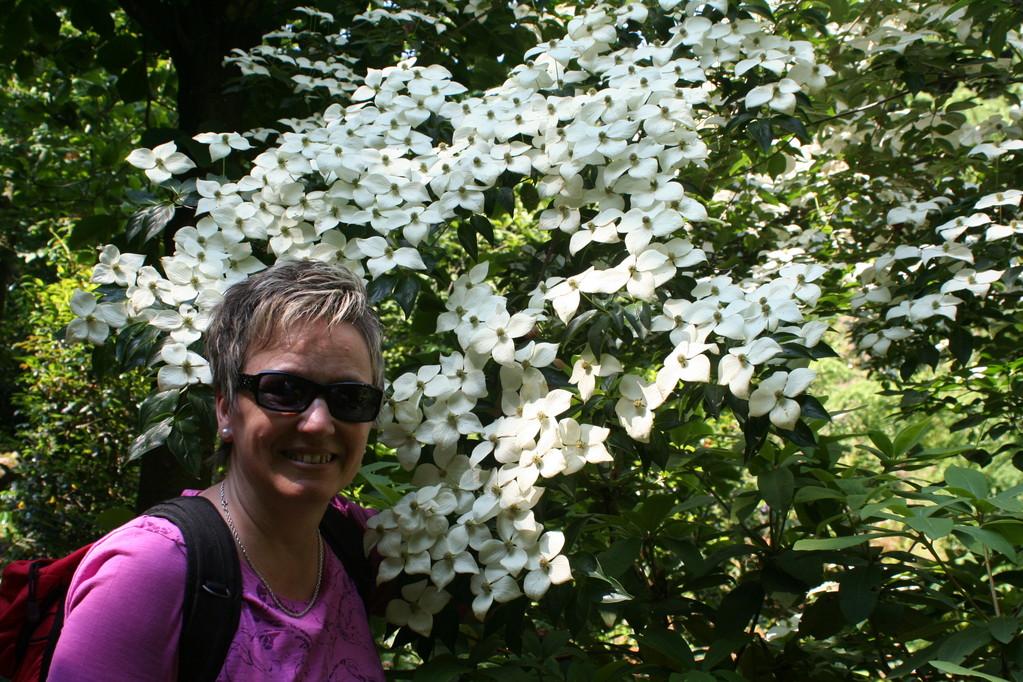 Mariann und wunderschöne Blüten