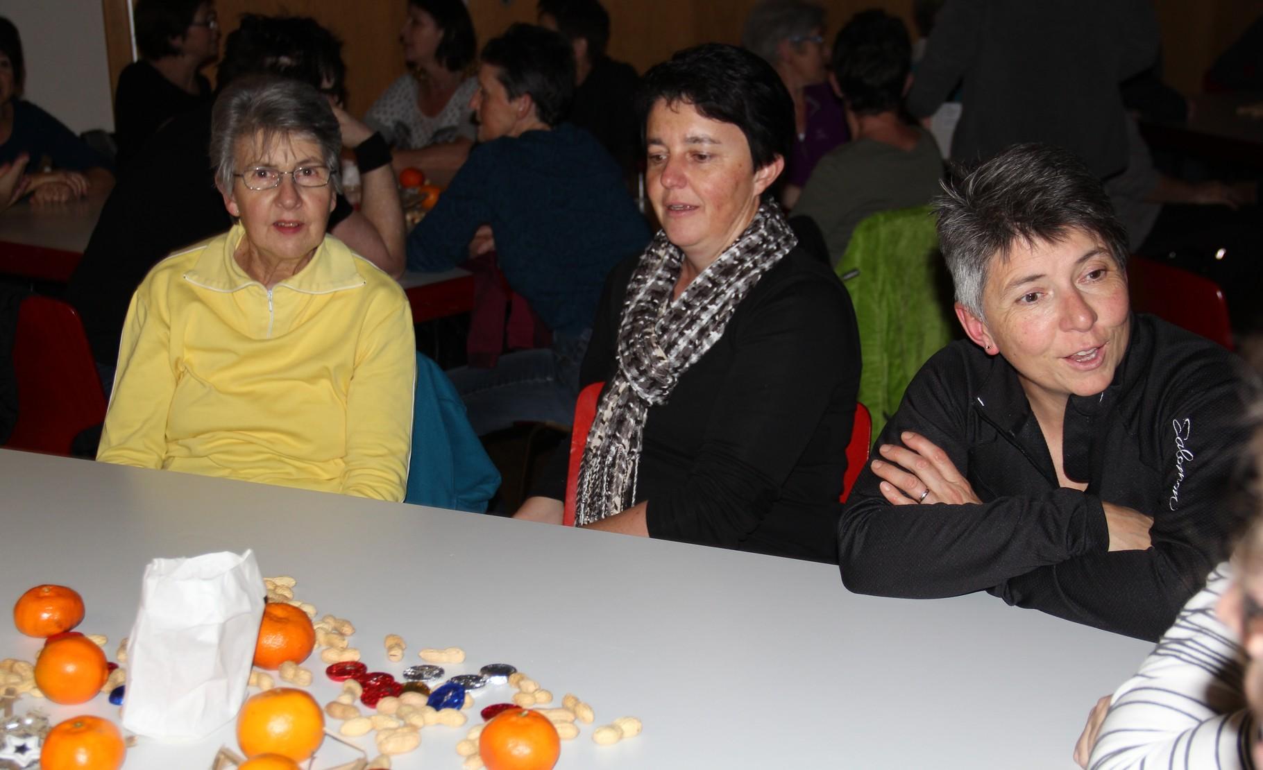 Resli, Silvia und Eva
