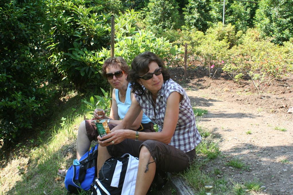 Mittagsrast im Parco Botanico