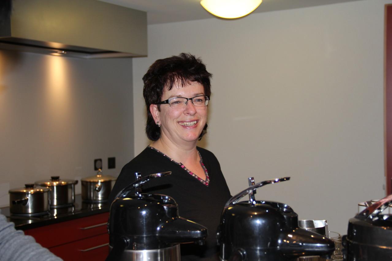 Küchenteammitglied: Silvia Gasser