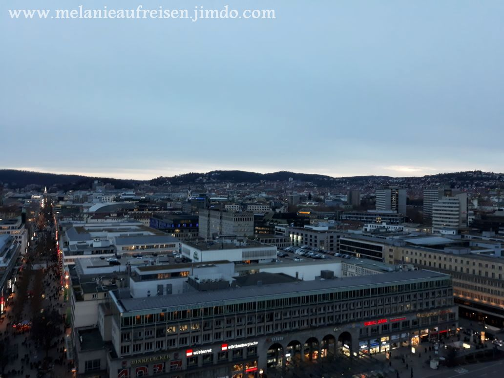 Freie Sicht auf Stuttgart