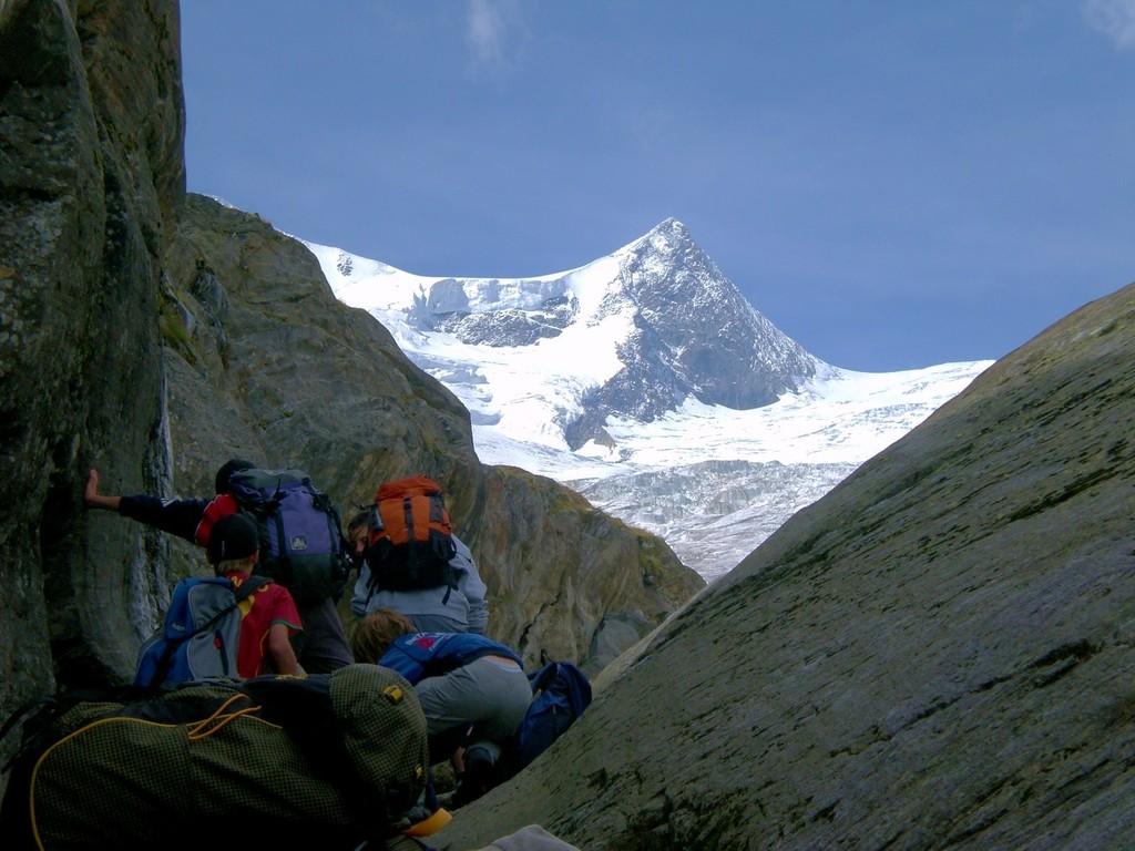 Bergsteigen mit Kinder (Foto: Familie Resinger/Egger)