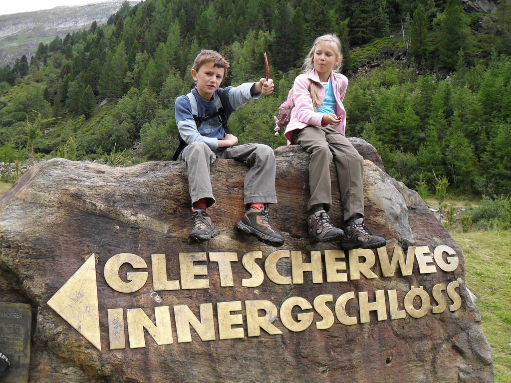 Gletscherweg Innergschlöß (Foto: Rainer Pollack)