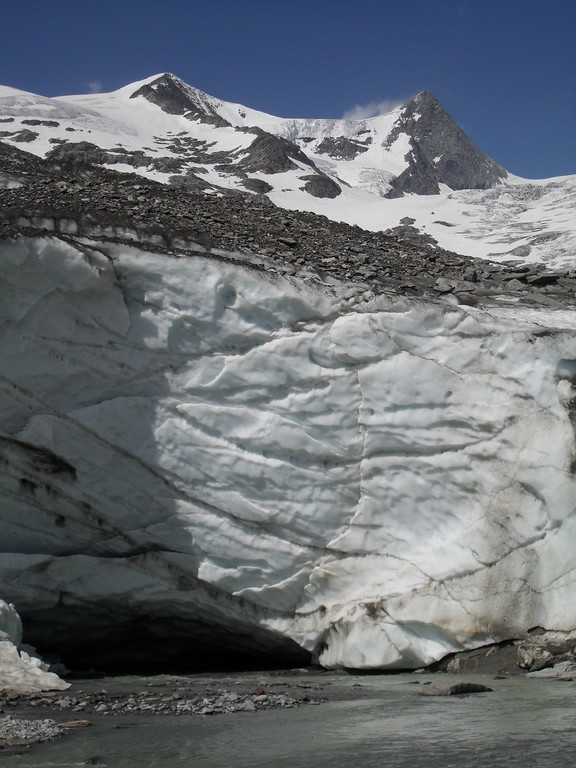 Gletschertor (Foto: Rainer Pollack)