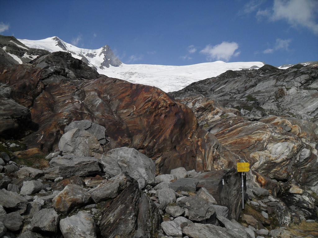 Abzweigung Gletschertor (Foto: Rainer Pollack)