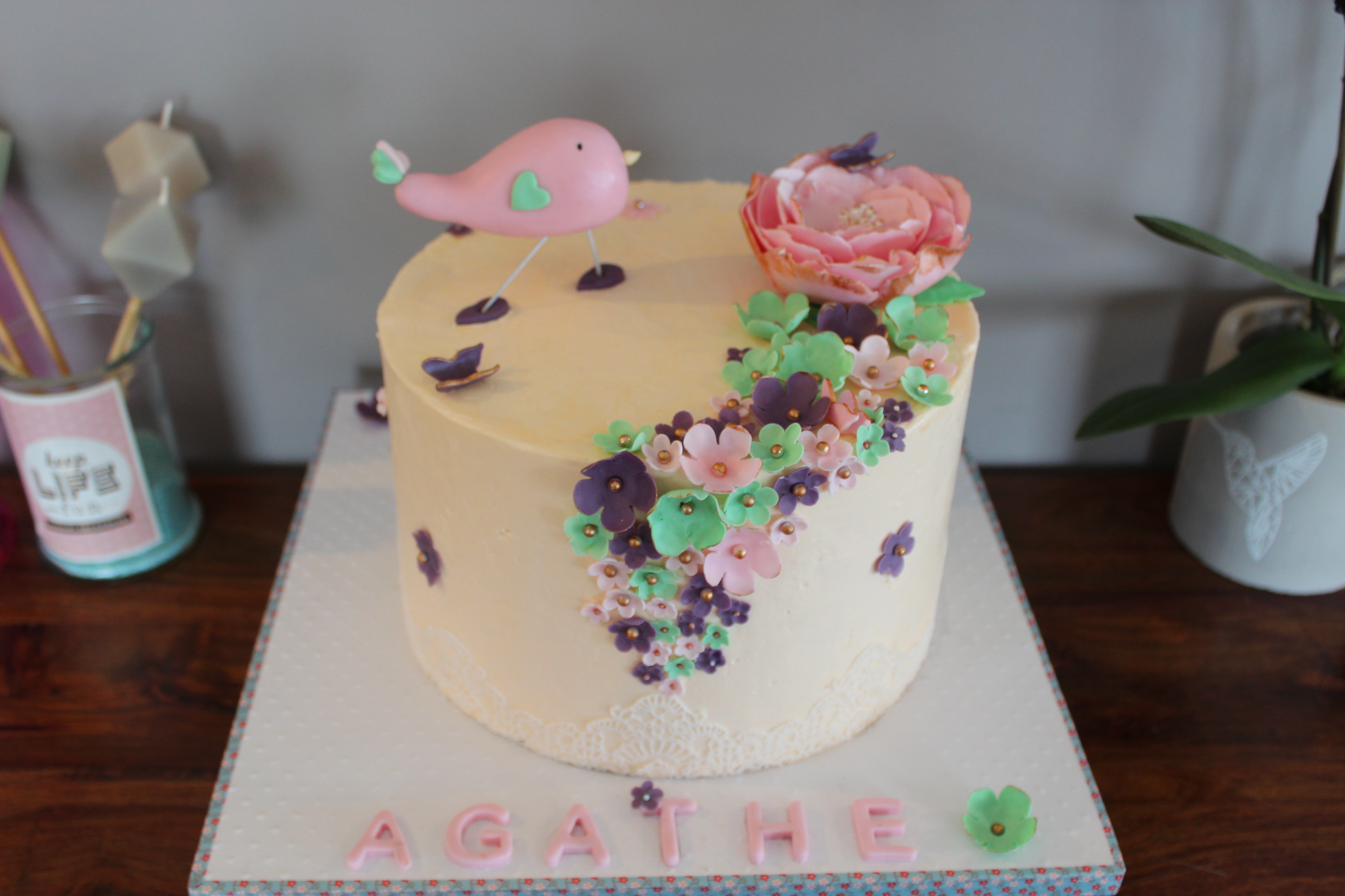 salon de thé bio qui propose des GATEAUX PERSONNALISES-wedding cake