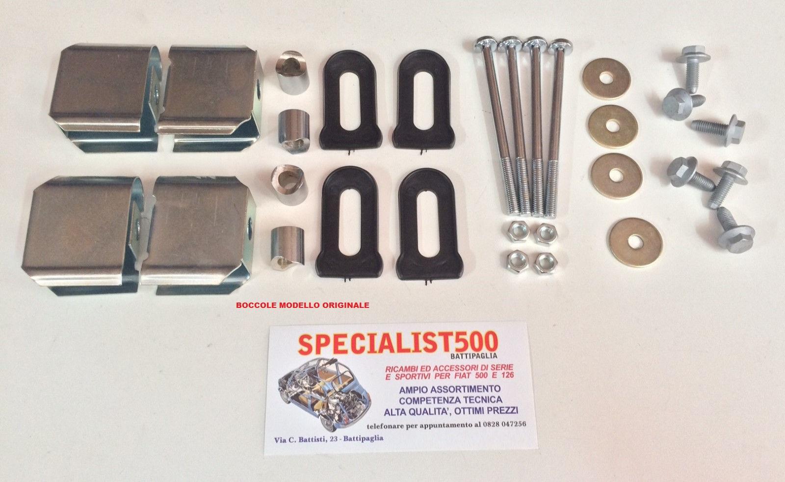 Paraurti ed accessori 500specialist fiat 500 for Moquette fiat 500 epoca