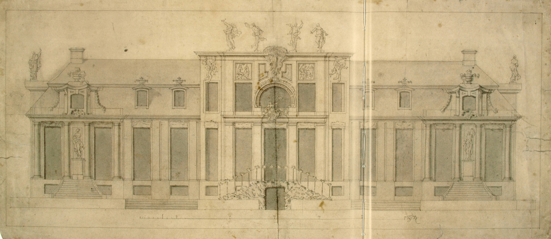 Entwurf, Villa Kamecke