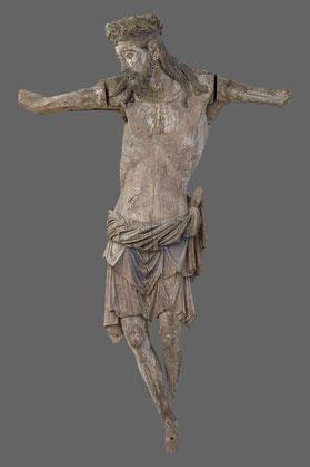 Kruzifix aus der Triumphkreuzgruppe der Naumburger Moritzkirche