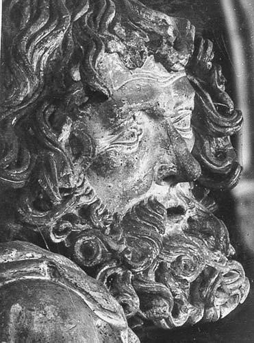 Pfeilerfigur des Apostels Bartholomäus, Foto: Datenbank zur Plastik in Mitteldeutschland