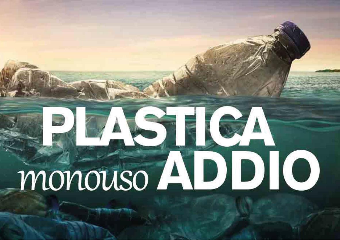 ADDIO A PIATTI E CANNUCCE MONOUSO IN PLASTICA