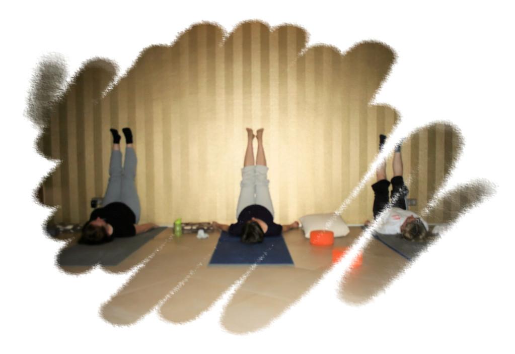 Beine entlasten (Yoga in der Schwangerschaft)