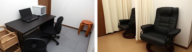 診察室3                      点滴室