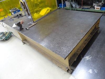 5尺×10尺製缶定盤製作します 箱型定盤