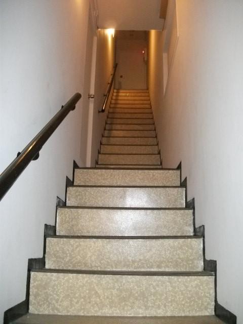 工事前:階段