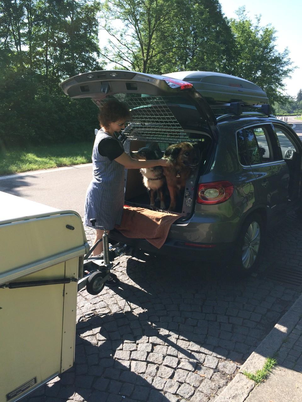 Auf der Fahrt nach Oberammergau
