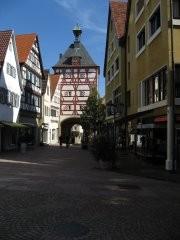 Das Untere Tor, einziges erhaltenes Stadttor, Ende 14. Jahrhundert