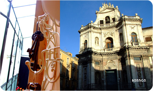 Chiesa di San Placido a Catania, bed and breakfast Bianca