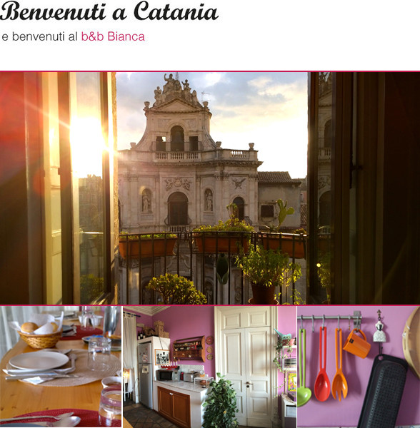 Bianca b&b, Catania - ingresso foto bed and breakfast catania centro