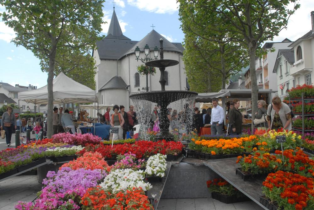 Marchés aux fleurs Argelès Gazost