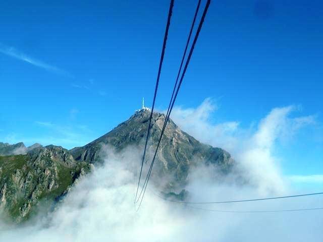 Pic du Midi grand site, téléphérique 2877m