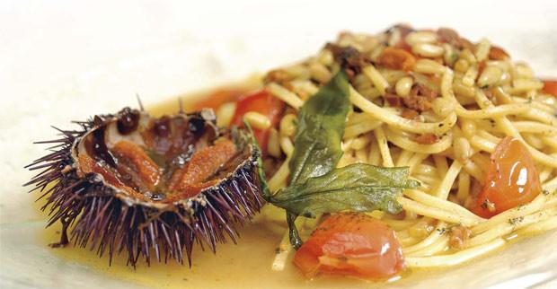 Spaghetti con Polpa di Riccio