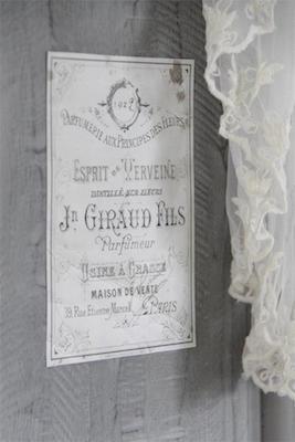 Image décorative Giraud de la gamme Vintage Paint par Jeanne d'Arc Living