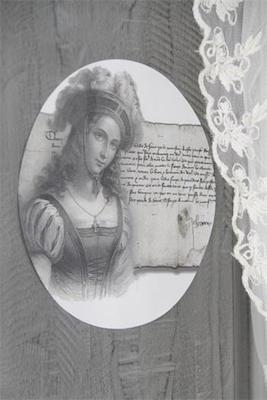 Image décorative Jeanne d'Arc de la gamme Vintage Paint par Jeanne d'Arc Living
