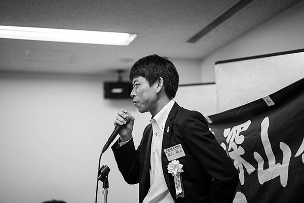 来賓 宮崎県東京事務所所長代理 高久様