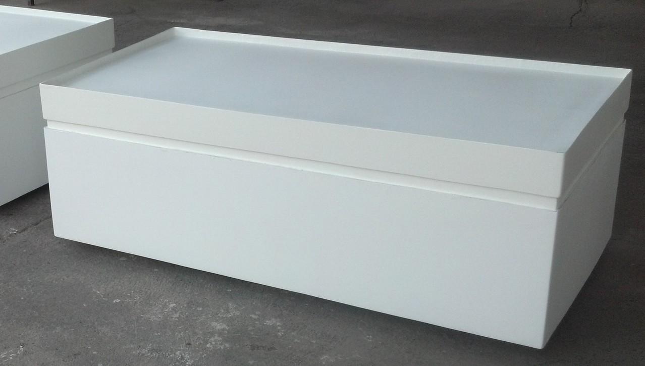 """""""Baúl- Sillón"""" en fibra de vidrio"""