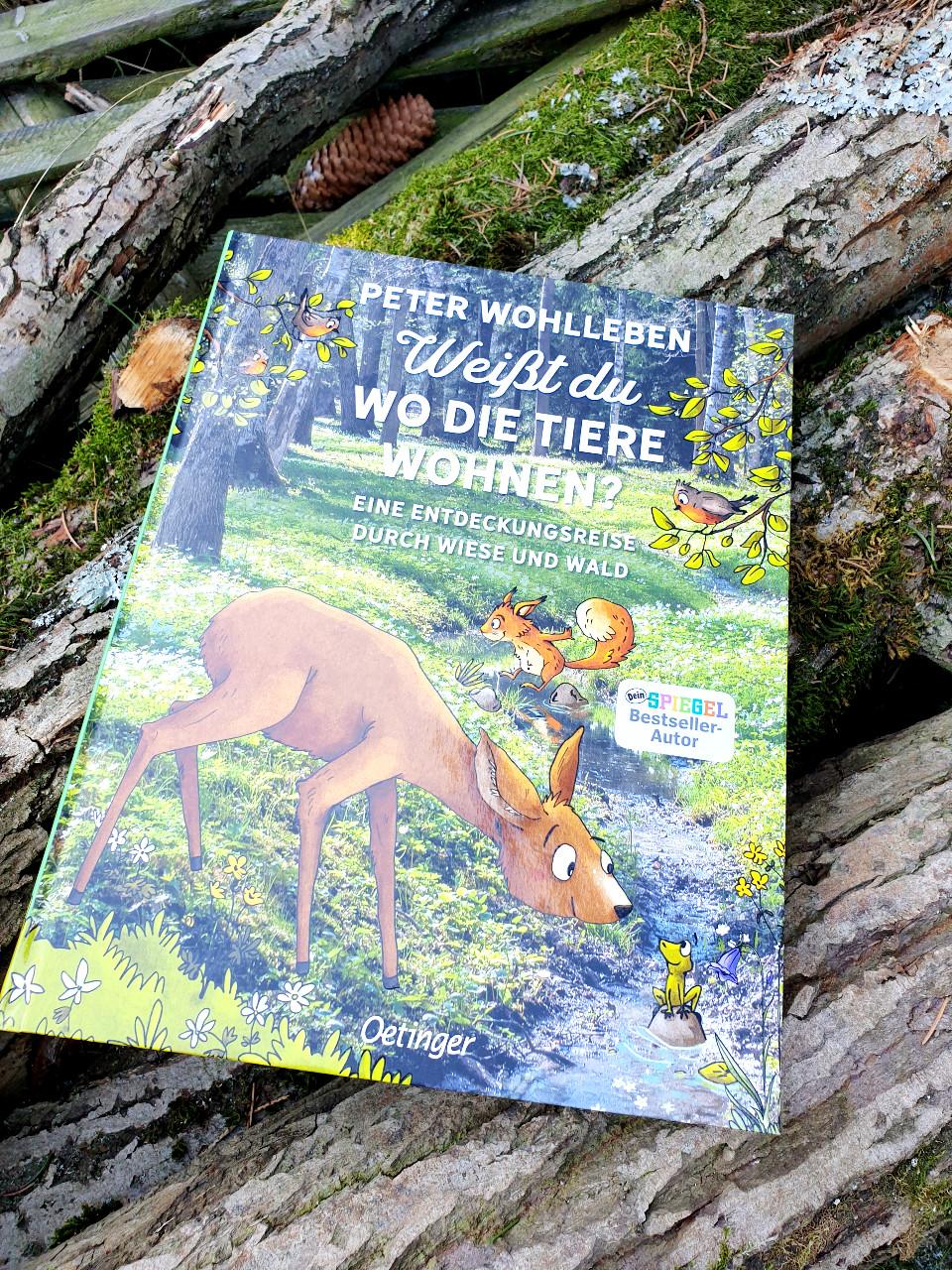 """""""Weißt du, wo die Tiere wohnen?"""" von Peter Wohlleben"""