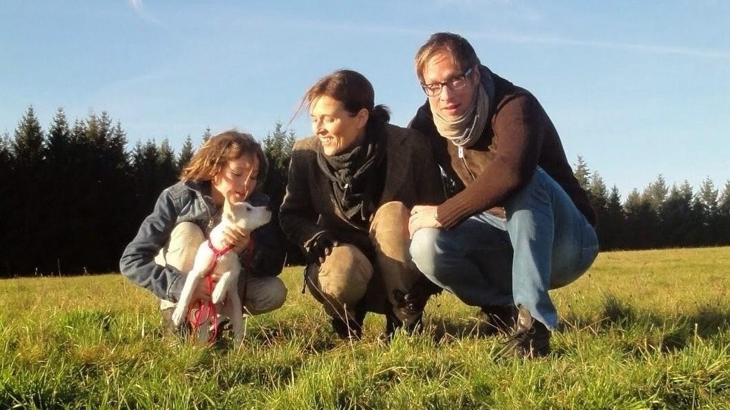 Aemma wird in Heidelberg bei Stefan,Janne und Milla wohnen