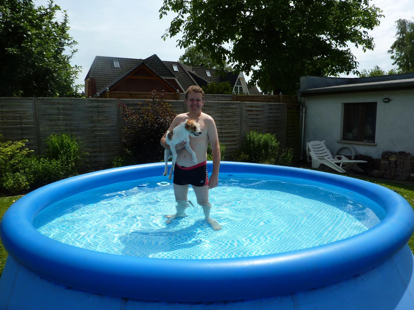 Im See war ich schon, im Pool noch nie