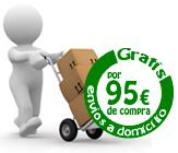 Envíos gratis a partir de 95 €