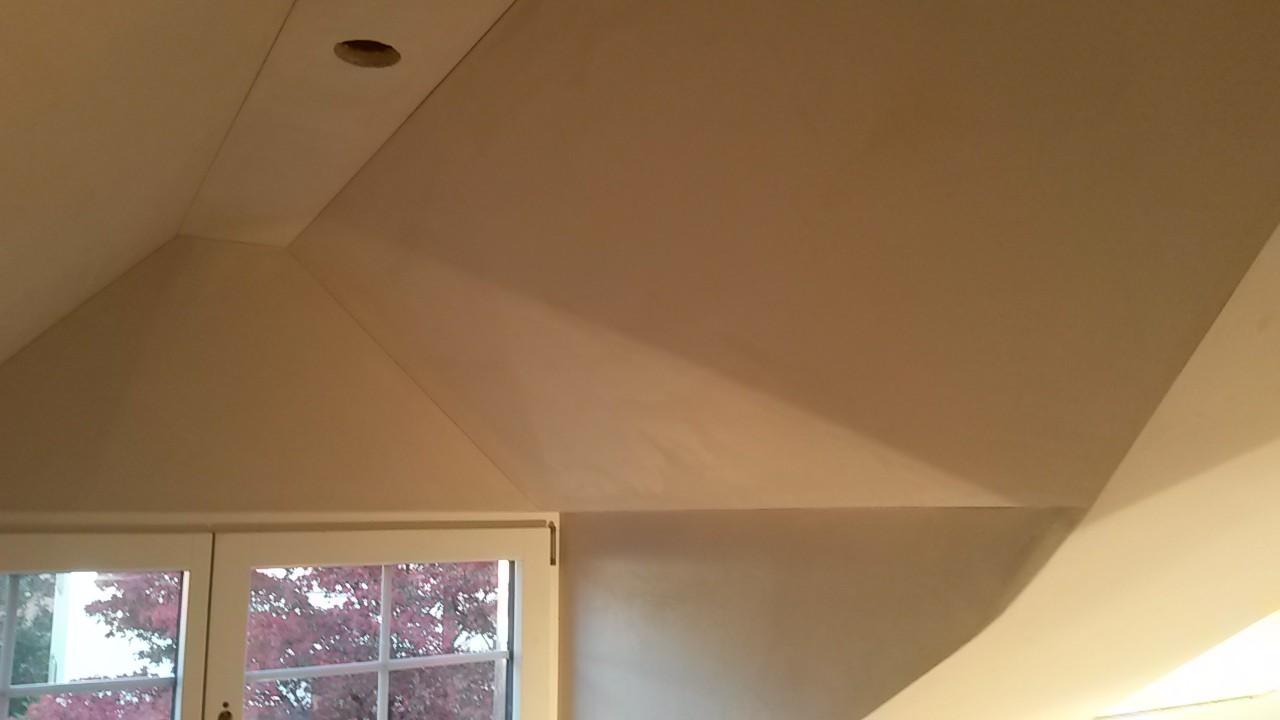 Weissputz auf Gipsplattendecken