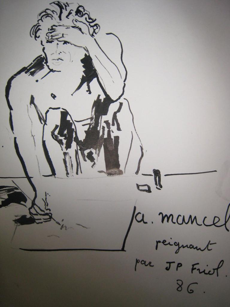 portrait par l'ami j.p. Friol