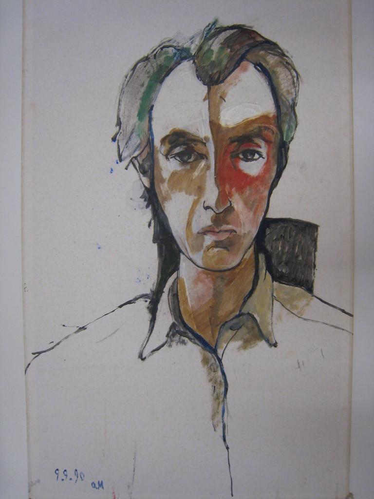 auto portrait à 52 ans