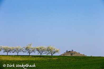 Spitze der Limburg, vom Braunfirst aus gesehen