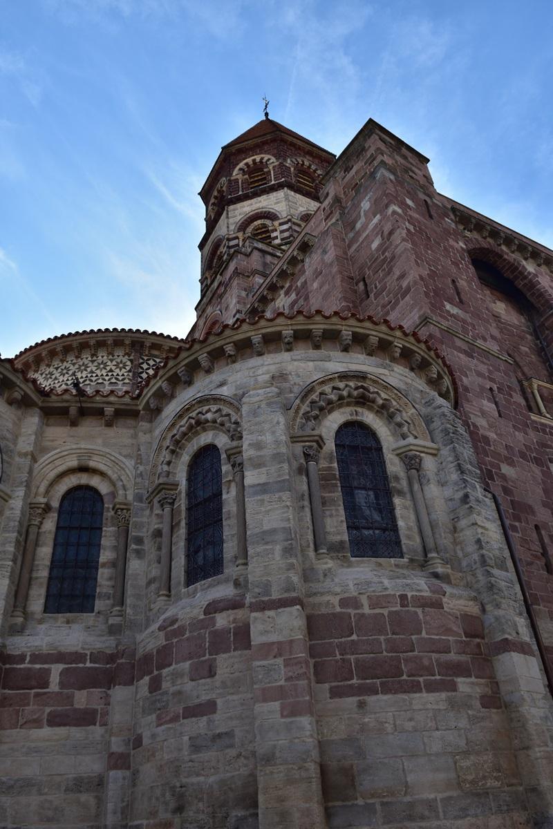 Brioude. Basilique St-Julien. Chevet
