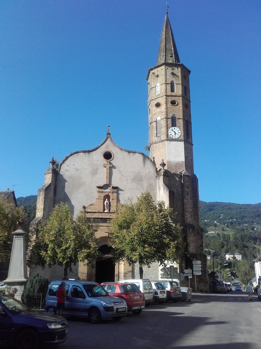Eglise de Massat - Photo de 2016