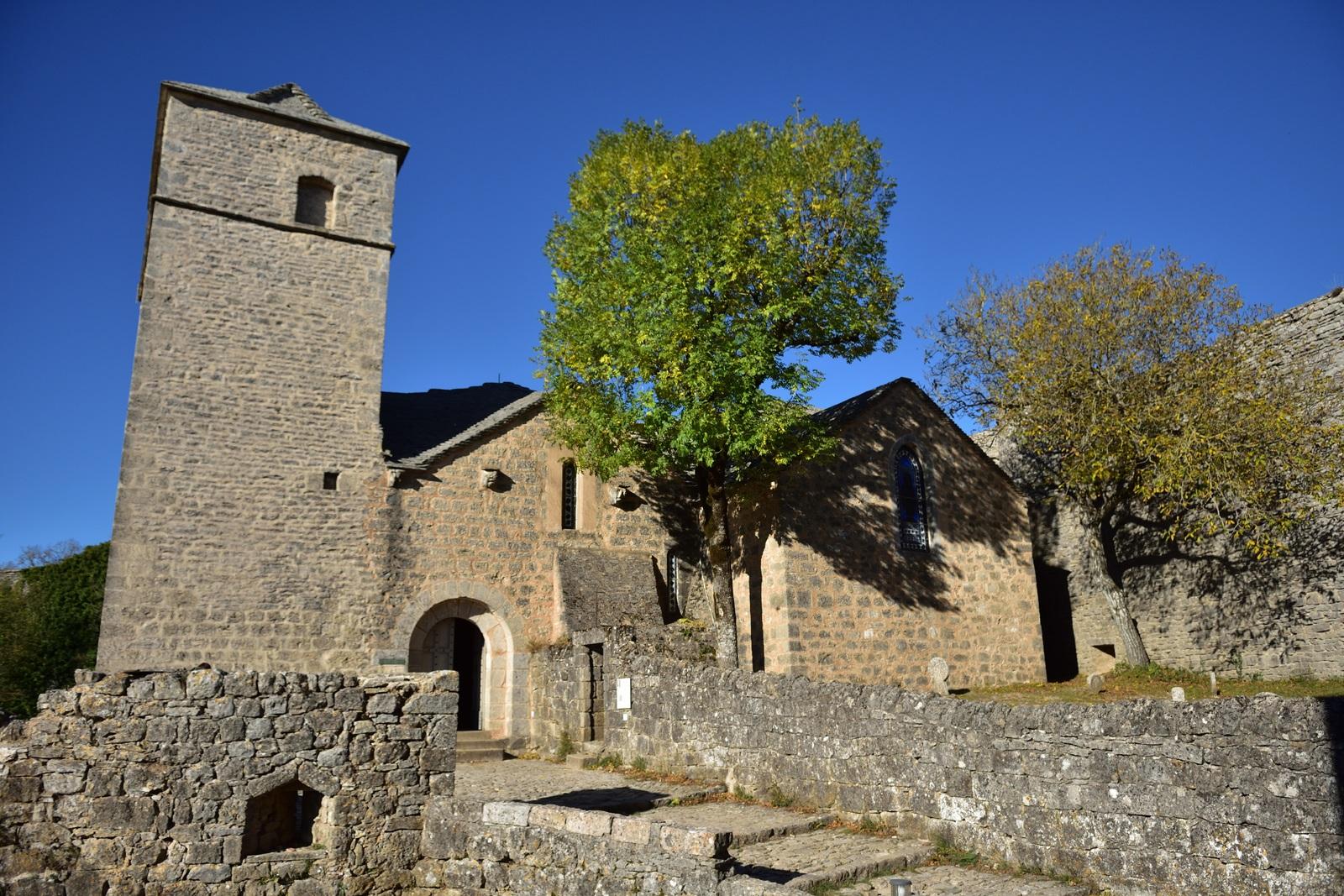 Eglise de la Couvertoire. Photo prise en octobre 2017