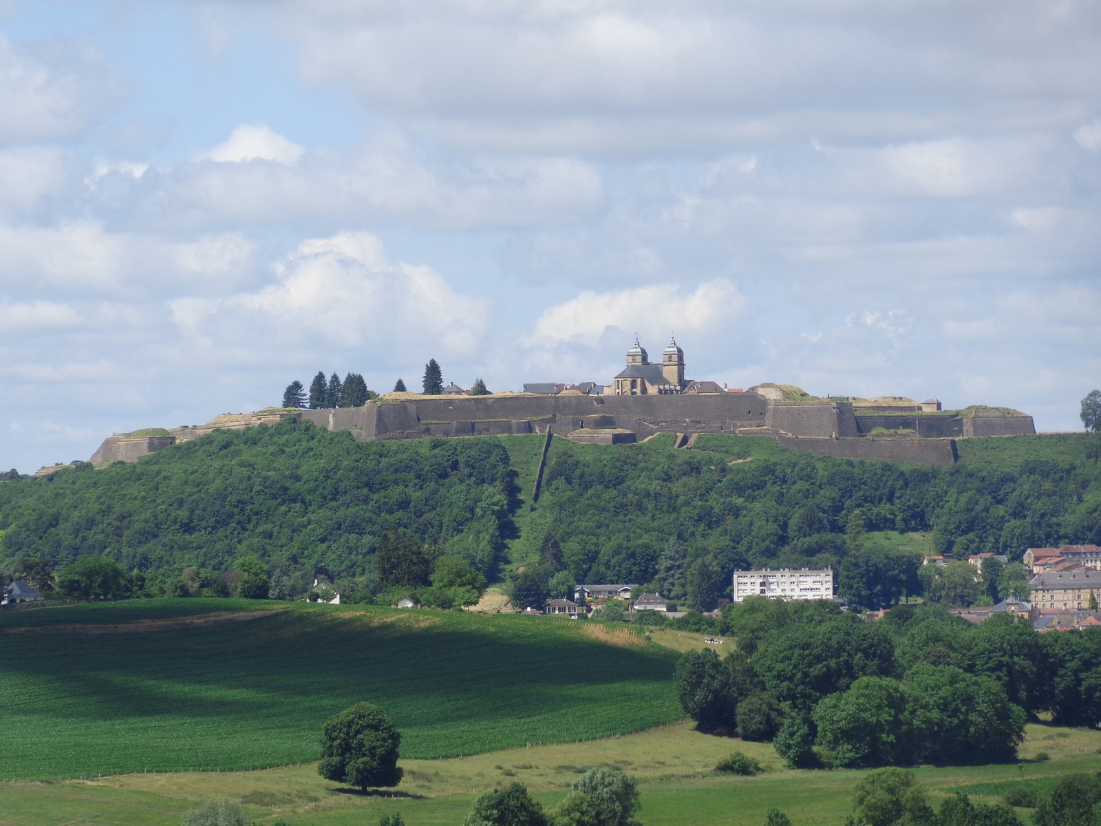 La citadelle Vauban (classé à l'UNESCO) de Montmédy