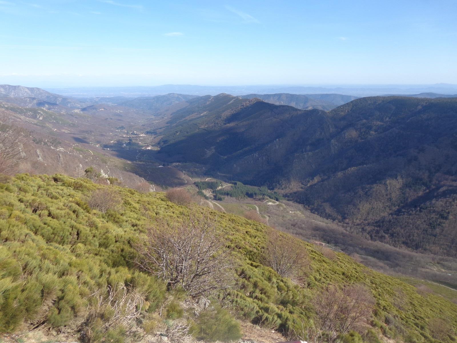Vue vers le Ventoux depuis le Col de Meyrand
